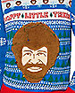 Light-Up Bob Ross Ugly Christmas Sweater
