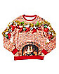Light-Up Decorated Mantel Sweatshirt