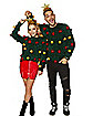 Christmas Tree Tinsel Ugly Christmas Sweater