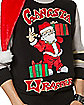 Santa Gangsta Wrapper Ugly Christmas Sweater