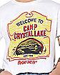 Welcome To Camp Crystal Lake T Shirt - Friday The 13th