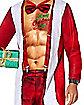 Adult Sexy Santa Union Suit