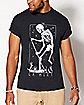 Tarot La Mort Card T Shirt