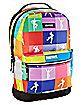Multicolor Camo Emote Backpack - Fortnite