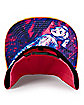 Pink and Orange Harley Quinn Snapback Hat - Birds of Prey