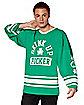 Drink Up Fucker St. Patrick's Day Hockey Jersey