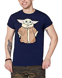 Yellow Star Blue T-shirt Halloween costume Shirts Adult Kids size