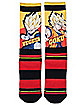 Vegeta Goku Crew Socks - Dragon Ball Z