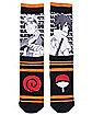 Naruto Sasuke Crew Socks - Naruto