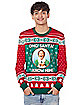 Santa I Know Him Ugly Christmas Sweater - Elf