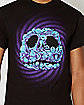 Nightmare Before Christmas Jack Head Collage T-Shirt