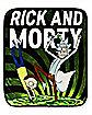 Rick and Morty Portal Fleece Blanket