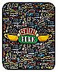 Central Perk Fleece Blanket – Friends