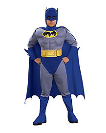 Kids Batman Costume Deluxe - Batman: The Brave and the Bold