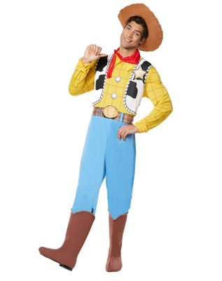 adult woody costume deluxe toy story