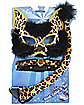 Deluxe Leopard Mask Set