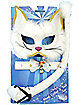 Deluxe White Cat Mask Set