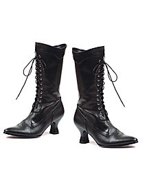 Black Victorian Boot