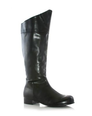Steampunk Boots and Shoes for Men Black Hero Boots  - Size 1213 - by Spirit Halloween $42.99 AT vintagedancer.com