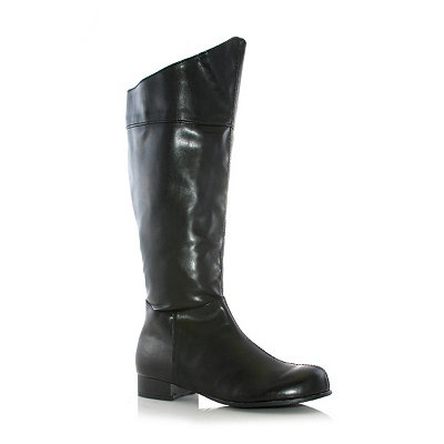 Steampunk Dresses | Women & Girl Costumes Black Hero Boots $42.99 AT vintagedancer.com