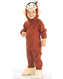 Kids Curious George Costume - Curious George