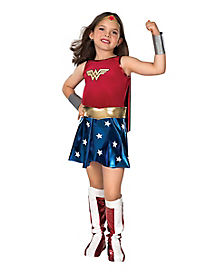 Kids Wonder Woman Costume Deluxe - DC Comics