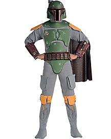 Adult Boba Fett Costume Deluxe - Star Wars