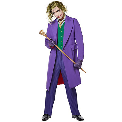 Steampunk Clothing- Men's Adult Joker Costume Theatrical- Batman The Dark Knight $179.99 AT vintagedancer.com