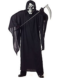 Adult Grim Reaper Plus Size Costume
