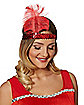 Red Feather Headband