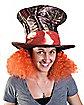 Tim Burton's Alice in Wonderland Madhatter Hat With Hair