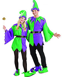 Adult Mardi Gras Jolly Jester Costume