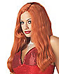 Red Silver Screen Sensation Wig