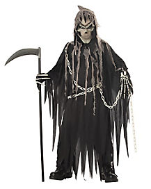 Kids Glow in the Dark Grim Reaper Costume - The Signature Collection