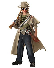 Kids Axed Zombie Hunter Costume