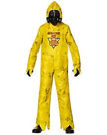 Kids Hazmat Hazard Zombie Costume