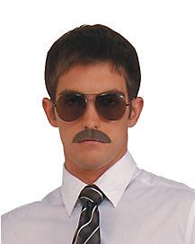 Gentleman's Black Mustache