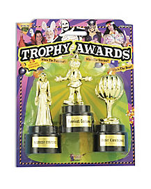 Halloween Costume Trophy Awards