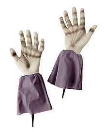 2 Ft Zombie Arm Lawn Stakes - Decorations