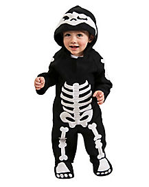 Baby & Toddler Skeleton & Day of the Dead Costumes