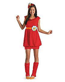 Tween Elmo Dress Costume - Sesame Street