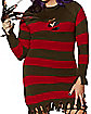 Adult Miss Freddy Krueger Plus Size Costume - Nightmare on Elm Street