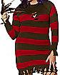 Adult Miss Freddy Krueger Plus Size Costume - Nightmare on Elm Street
