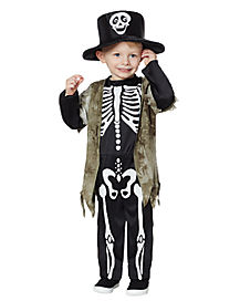 Toddler Happy Skeleton Costume