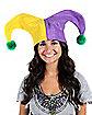 Mardi Gras Felt Jester Hat