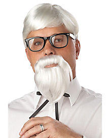 The Colonel Wig and Mustache