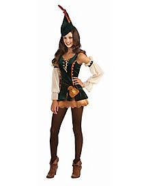 Tween Forest Bandit Costume