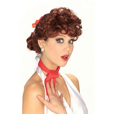 1950s Costumes 50s Housewife Wig $19.99 AT vintagedancer.com