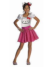 Kids Hello Kitty Costume - Hello Kitty