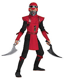 Kids Red Viper Ninja Costume